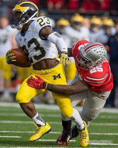 020 Brionte Dunn Ohio State Michigan 2014