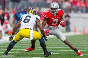 021 Michael Thomas Ohio State Michigan 2014