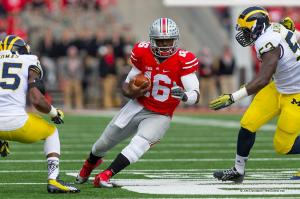 022 JT Barrett Ohio State Michigan 2014