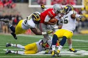 023 JT Barrett Ohio State Michigan 2014