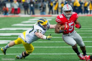 026 Ezekiel Elliott Ohio State Michigan 2014