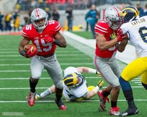 027 Ezekiel Elliott Evan Spencer Ohio State Michigan 2014