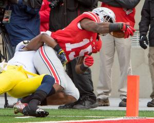 030 Ezekiel Elliott Ohio State Michigan 2014