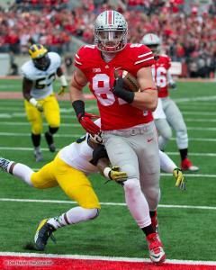 034 JT Barrett Nick Vannett Ohio State Michigan 2014