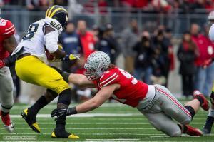 063 Joey Bosa Ohio State Michigan 2014