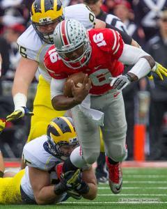 088 JT Barrett Ohio State Michigan 2014