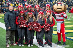 001 Cheerleaders Ohio State Michigan 2015