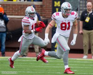 025 Nick Vannett Ezekiel Elliott Ohio State Michigan 2015