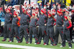 043 Cheerleaders Ohio State Michigan 2015