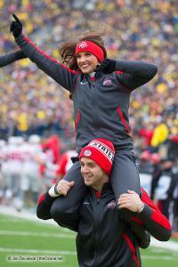 045 Cheerleaders Ohio State Michigan 2015
