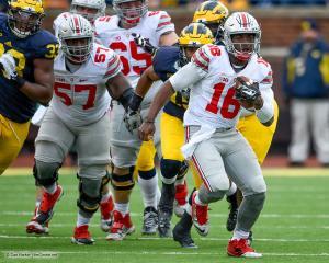 056 Chase Ferris JT Barrett Ohio State Michigan 2015