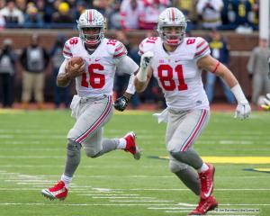 063 JT Barrett Nick Vannett Ohio State Michigan 2015