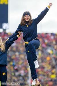 079 Cheerleaders Ohio State Michigan 2015