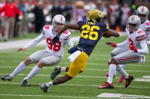 080 Denzel Ward Jack Willoughby Ohio State Michigan 2015
