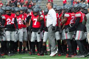 009 Urban Meyer pregame Ohio State Michigan 2016