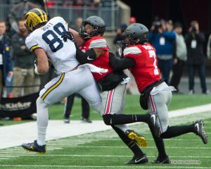 021 Damon Webb Jake Butt Ohio State Michigan 2016