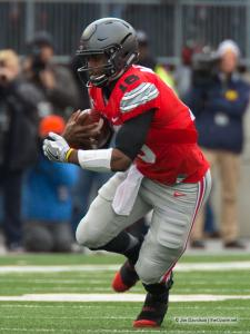 025 JT Barrett Ohio State Michigan 2016