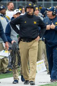 026 Jim Harbaugh Don Brown Ohio State Michigan 2016