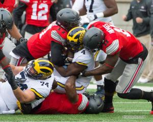 032 Jalyn Holmes Jerome Baker Ohio State Michigan 2016