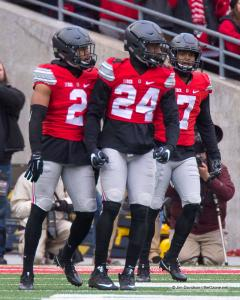 036 Damon Webb Malik Hooker Marshon Lattimore Ohio State Michigan 2016