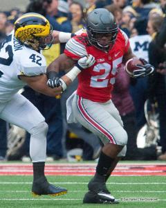 037 Mike Weber Ohio State Michigan 2016