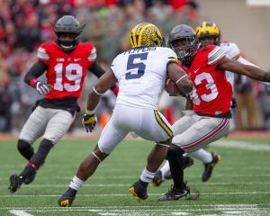 038 Terry McLaurin Jabrill Peppers Eric Glover Williams Ohio State Michigan 2016