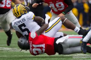039 Parris Campbell Jabrill Peppers Ohio State Michigan 2016
