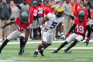 040 Terry McLaurin Jabrill Peppers Eric Glover Williams Ohio State Michigan 2016