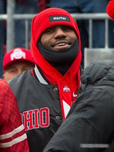 043 LeBron James Ohio State Michigan 2016