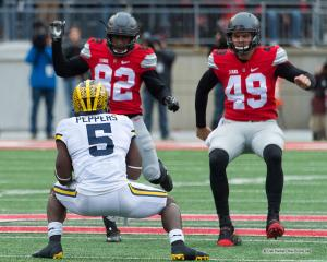045 James Clark Liam McCullough Jabrill Peppers Ohio State Michigan 2016