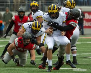 050 Jerome Baker Wilton Speight Ohio State Michigan 2016