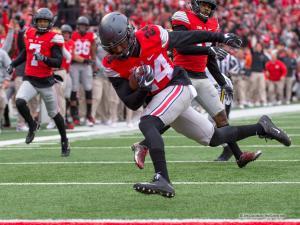 059 Malik Hooker Interception Ohio State Michigan 2016