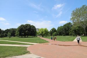 The Ohio State University Campus Oval - Long Walk